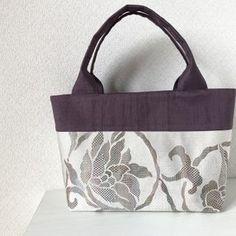 帯バッグ〜紫〜の画像