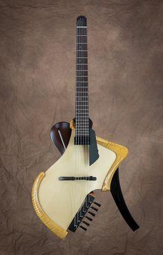 Michihiro Matsda Guitars[ミチヒロ・マツダギターズ] Matsuda headless arched top acoustic electric guitar|詳細写真