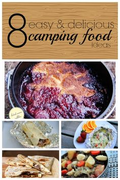 8 Easy and Delicious Camping Food Ideas | Tipsaholic.com #cooking #recipe #camping #campfire #food