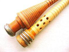 Wood Spindle Spool Bobbin  #wood #art #Etsy #sewing @Etsy http://www.etsy.com/listing/108322286/vintage-wood-spindle-spool-bobbin-f340