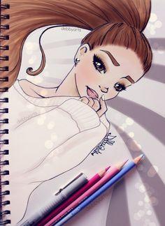 Ariana Grande Problem - by DebbyArts by DebbyArts.deviantart.com on @deviantART