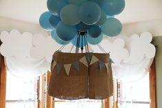 [Boy Party] Hot Air Balloon First Birthday! - Spaceships and Laser Beams