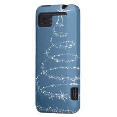 sparkly tree festive HTC Vivid phone case
