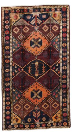 Bakhtiari Persian Carpet 240x135