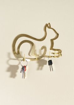 Dramatic Paws Wall Hook, #ModCloth
