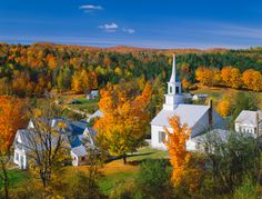 Autumn Waitsfield, Vermont