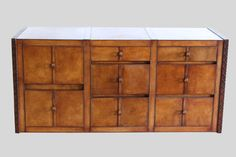 DAK BANGLA Filling Cabinet by PortsideCafe is a  fully leather-clad chest of drawers with loops as handles. Inside lining ultra-suede.