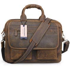 Men's Handmade Genuine Leather Laptop Bag: £79.00 - Save: £120.00 https://www.amazon.co.uk/Jack-Chris-Handmade-Briefcase-Messenger/dp/B01GRMLFPI/ref=as_li_ss_tl?_encoding=UTF8&psc=1&refRID=VKCP082YCSGZM54MNN5H&linkCode=ll1&tag=trackerbestbu-21&linkId=d0da4269649c521eede98563b369cdad
