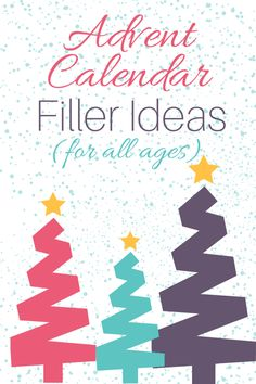 Advent Calendar Filler Ideas for All Ages