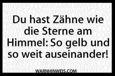 Schöne Zähne - Warnhinweis des Tages 13.12.2014 | Funcloud