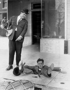 Laurel and Hardy in Your Darn Tootin' (1928)