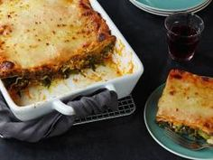 Classic Italian Lasagna : Tackle Giada's traditional lasagna by making each of the separate ingredients before layering.