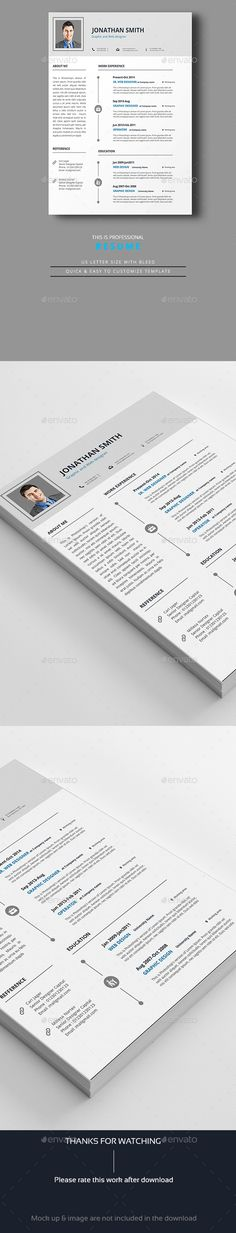 Resume Word Resume words, Cv template and Professional resume design - resume on word