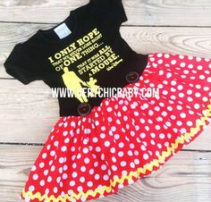 Minnie Mouse Dress Minnie Dress Baby Girls Dress Little Mickey Mouse Dress, Minnie Mouse Birthday Outfit, Mickey Mouse Costume, Minnie Dress, Mouse Outfit, Mickey Birthday, Birthday Ideas, Couple Halloween Costumes For Adults, Couple Costumes