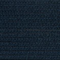 Colonial Braided Rug Co - Solid Midnight Blue Braided Rug, $59.70 (http://www.colonialrug.com/solid-midnight-blue-braided-rug/)