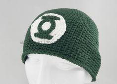 Green Lantern Handmade beanie