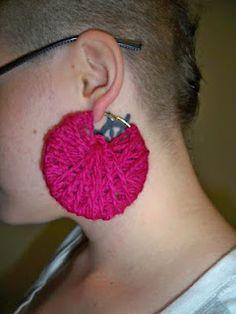 Wrap around earrings!