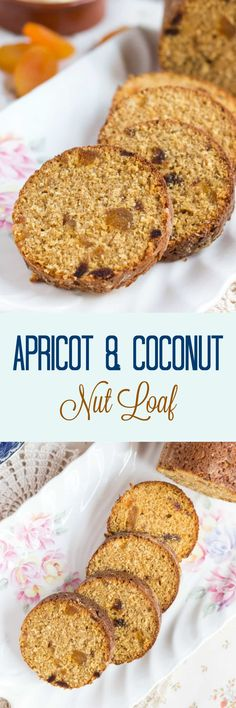 This uniquely Australian Apricot & Coconut Nut Loaf is delicious sliced & smeared with butter. The recipe makes two, so eat one & freeze one for later. Muffin Recipes, Baking Recipes, Snack Recipes, Dessert Recipes, Desserts, Bread Recipes, Easy Recipes, Breakfast Recipes, Vegan Recipes