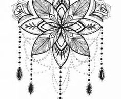 Image result for feather in mandala tattoos
