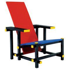 DESIGNkeus, een blog over de persoonlijke DESIGNkeus van Jan Willem Henssen: red-blue chair