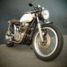 Yamaha's XS650 custom built by Modern Motor Cycle Company