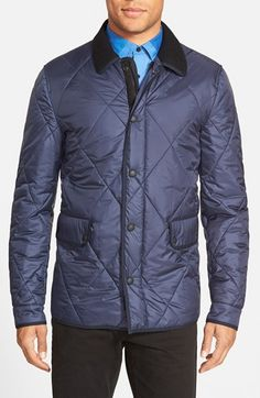 Burberry Brit 'Townsend' Diamond Quilted Jacket