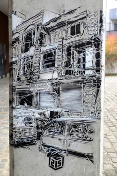 Vitry-sur-Seine - place Jean Martin - street art - c215