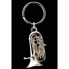 Amazon.com: Euphonium Key Chain - Nickel Silver Plated: Musical Instruments