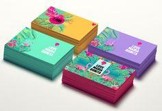 ideas for business cars design cute behance Corporate Design, Corporate Identity, Business Card Design, Creative Business, Massage Bebe, Name Card Design, Bussiness Card, Box Design, Design Cars