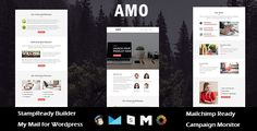 Download AMO - Multipurpose Responsive Email Template with Stamp Ready Builder Access (Email Templates) Nulled