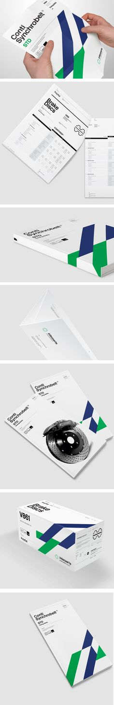 Interparts & Machinery New Identity on Behance