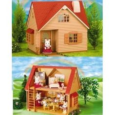 Calico Critters - for my girls (hope they don't notice how much I end up playing with them!  Cute, modest clothes, and adorable family groups!