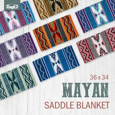 46 Best Saddle Blankets And Pads Images