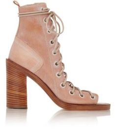 Ann Demeulemeester Leather Lace-Up Sandals at Barneys New York