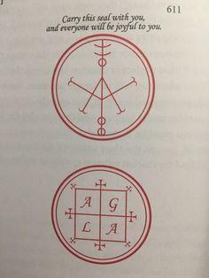 🌙Knowledge Is Power🌞 — Magical seals from The Book of Oberon Wiccan Symbols, Magic Symbols, Viking Symbols, Ancient Symbols, Egyptian Symbols, Viking Runes, Magick Book, Magick Spells, King Solomon Seals