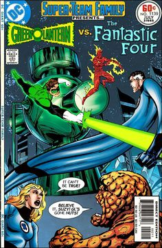 Super-Team Family: The Lost Issues!: Green Lantern Vs. The Fantastic Four