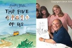 The Five of Us: 'a gesture of solidarity'. Booktrust Consultant Alexandra Strick talks to Sir Quentin Blake about new title The Five of Us and finds out exactly how his original inspiration for an inclusive book eventually became a reality.