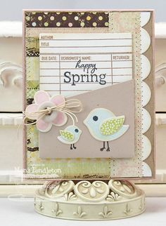 happy Spring...MFT February Teasers Day 2 ~ Cupcake's Creations
