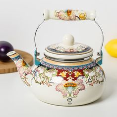 2.4L special porcelain enamel kettle Water kettle Water bottle traditional Chinese Medicine Free Shipping