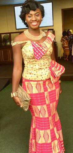 Martha Ankomah in Christmas Kente Fashion, African fashion, Ankara, kitenge, African women dresses, African prints, African men's fashion, Nigerian style, Ghanaian fashion, ntoma, kente styles, African fashion dresses, aso ebi styles, gele, duku, khanga, krobo beads, xhosa fashion, agbada, west african kaftan