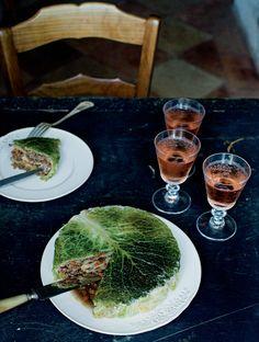 Les 5 recettes saisonnieres de Mimi Thorisson chou farci