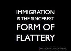 We should be thankful for immigrants.