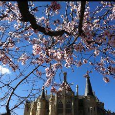 Astorga (Spain) in spring