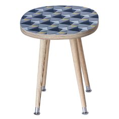 Calling all journalists and interiors bloggers, find high resolution photos of our products on @pressloft Beyond the Fridge - Retro Side Table - Shards design - Concrete and Yellow #retro #midcentury #design