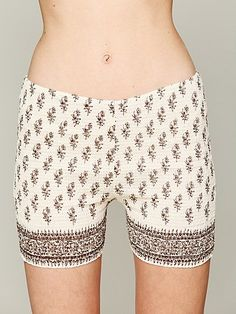 FP ONE Smocked Bike Shorts