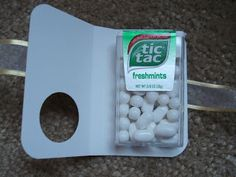 Tic Tac Holder Tutorial