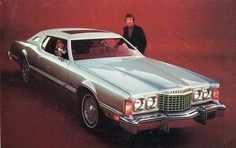 1975 Ford Thunderbird cuz nothin says playa like a vinyl top and that little oval window.