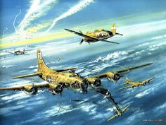 airplane art   Aviation Art : Air Combat Paintings Collection (Vol.02) - Aviation Art ...