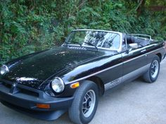 Car 122 - 1980 MGB-LE 10-5-10 - The old British car bug bit again and I purchased this last-year-of-production MGB.  It had excellent paint and a good leather interior but an engine that was desperately in need of a rebuild.