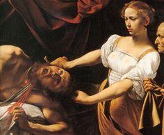 judith and holofermes - caravaggio